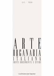 Arte Organaria Italiana XII-2020